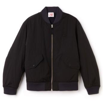 リバーシブルデザインボンバージャケット