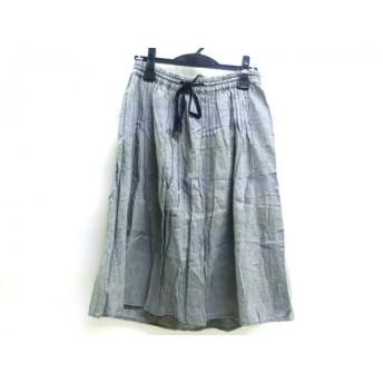 【中古】 レプシィム LEPSIM スカート サイズF レディース 黒 白