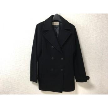 【中古】 プロポーションボディドレッシング PROPORTION BODY DRESSING コート レディース 黒 冬物