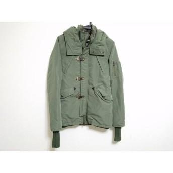 【中古】 スライ SLY コート サイズ1 S レディース 美品 カーキ 冬物