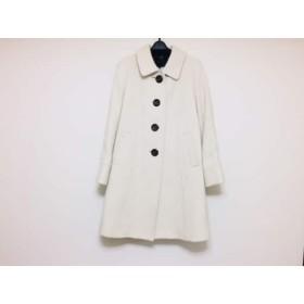 【中古】 アンタイトル UNTITLED コート サイズ2 M レディース 美品 アイボリー 冬物