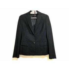 【中古】 ボールジー BALLSEY ジャケット サイズ36 S レディース 黒 肩パッド