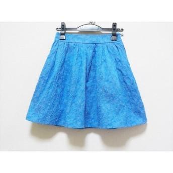 【中古】 ジルバイジルスチュアート JILL by JILLSTUART スカート サイズS レディース ブルー