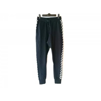 【中古】 ドレスキャンプ DRESS CAMP パンツ サイズS レディース 美品 黒 スウェット