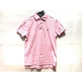【中古】 ポロラルフローレン POLObyRalphLauren 半袖ポロシャツ サイズS メンズ ピンク