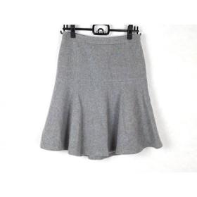 【中古】 ニジュウサンク 23区 スカート サイズ38 M レディース グレー