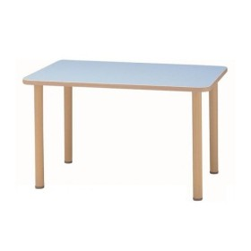 (代引き不可)サンケイ 長方形テーブル(H700〜750mm) TCA275-ZW