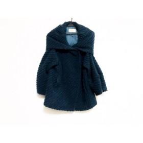 【中古】 デプレ DES PRES コート サイズ1 S レディース ブルー 冬物