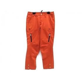 【中古】 マスターバニーエディション パンツ サイズ0 XS レディース 美品 オレンジ PEARLY GATES