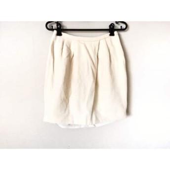 【中古】 チェスティ Chesty スカート サイズ0 XS レディース アイボリー