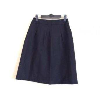 【中古】 ユキトリイ YUKITORII スカート サイズ38 M レディース 黒