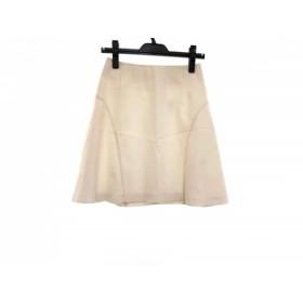 【中古】 オペーク OPAQUE スカート サイズ36 S レディース 白