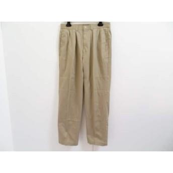 【中古】 ポロラルフローレン POLObyRalphLauren パンツ サイズ32 XS レディース ベージュ