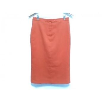 【中古】 ルシェルブルー LE CIEL BLEU スカート レディース オレンジ