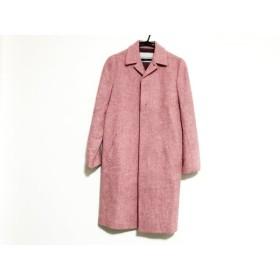 【中古】 マサキマツシマ MASAKI MATSUSHIMA コート サイズ2 M レディース ピンク 冬物