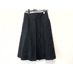 【中古】 マーガレットハウエル MargaretHowell スカート サイズ2 M レディース 黒