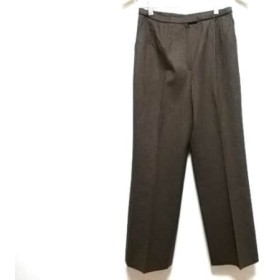 【中古】 レリアン Leilian パンツ サイズ9 M レディース ダークブラウン