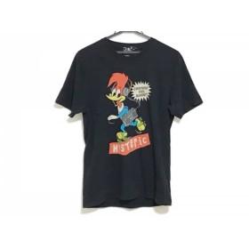 【中古】 ヒステリックグラマー HYSTERIC GLAMOUR 半袖Tシャツ サイズM メンズ 黒 マルチ