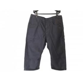 【中古】 ジースターロゥ G-STAR RAW パンツ サイズ36 S メンズ 黒 七分丈