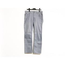 【中古】 ブラックレーベルクレストブリッジ BLACK LABEL CRESTBRIDGE パンツ サイズ79 メンズ ブルー