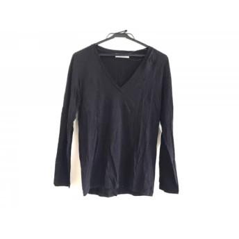 【中古】 シンゾーン Shinzone 長袖Tシャツ サイズF レディース 黒 THE SHINZONE/Vネック