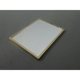 【中古】 イヴサンローランパフューム ミラー ピンク ゴールド 金属素材 ガラス