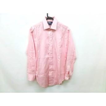 【中古】 ポロラルフローレン POLObyRalphLauren 長袖シャツ サイズ39-82 メンズ ピンク
