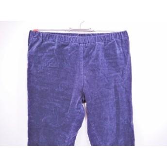 【中古】 ミズイロインド mizuiro ind パンツ サイズ2 M レディース ネイビー