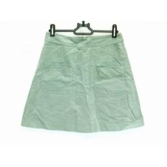 【中古】 イエナ IENA ミニスカート サイズ36 S レディース ライトグリーン