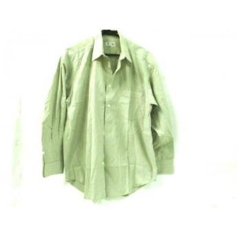 【中古】 コムサデモードメン COMME CA DU MODE MEN 長袖シャツ サイズ2 M メンズ 白 マルチ