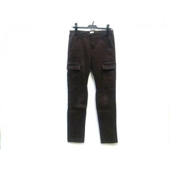 【中古】 プラステ PLS+T(PLST) パンツ サイズ2 M レディース ダークブラウン