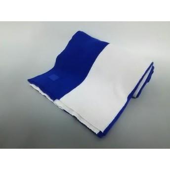 【中古】 アクネ ストゥディオズ ACNE STUDIOS マフラー ブルー ライトグレー ストライプ ウール