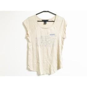 【中古】 マークバイマークジェイコブス 半袖Tシャツ サイズS レディース ベージュ ブルー ピンク