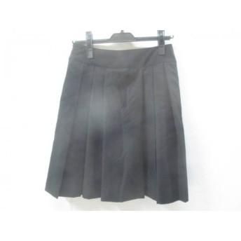 【中古】 ギャミヌリィ gaminerie スカート サイズM レディース ブラック