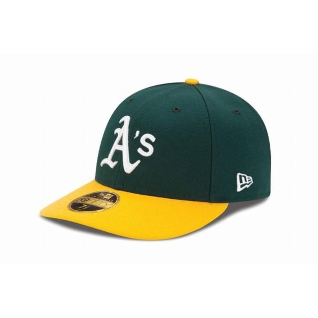 ニューエラ(NEW ERA) LP 59FIFTY MLB オンフィールド オークランド・アスレチックス ホーム 11449294