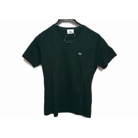 【中古】 ラコステ Lacoste 半袖Tシャツ サイズ42 L レディース 黒