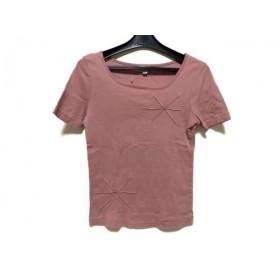 【中古】 ホコモモラ JOCOMOMOLA 半袖Tシャツ サイズ40 XL レディース ピンク de Sybilla