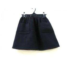 【中古】 ジルスチュアート JILL STUART ミニスカート サイズ2 S レディース 黒