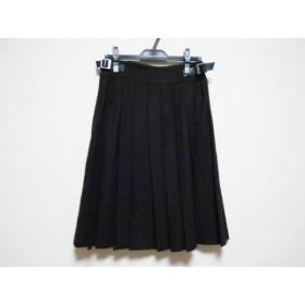 【中古】 オールドイングランド OLD ENGLAND 巻きスカート サイズ38 M レディース 黒