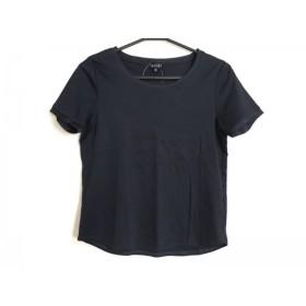 【中古】 インディビ INDIVI 半袖Tシャツ サイズ5 XS レディース ダークネイビー