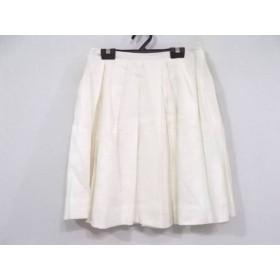 【中古】 ジャスグリッティー JUSGLITTY スカート サイズ1 S レディース アイボリー