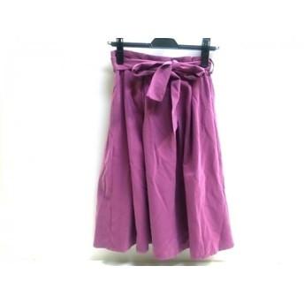 【中古】 ロペピクニック RopePicnic スカート サイズ36 S レディース ピンクパープル