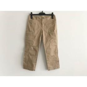 【中古】 ニジュウサンク パンツ サイズ36 S レディース ライトブラウン Vingt-trois arrondissements