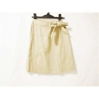 【中古】 エストネーション ESTNATION スカート サイズ36 S レディース ベージュ