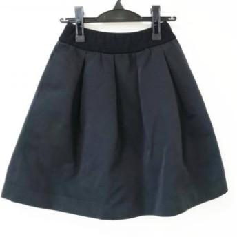 【中古】コトゥー COTOO スカート サイズ36 S レディース 黒