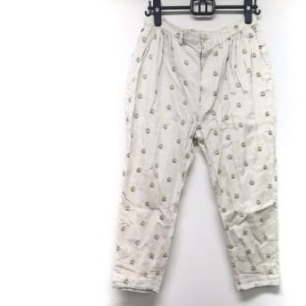 【中古】 ネネット Ne-net パンツ サイズ3 L レディース ベージュ グリーン イエロー