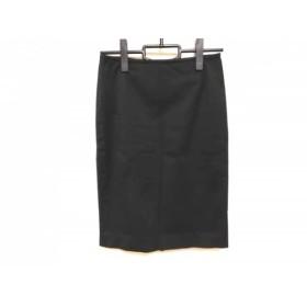 【中古】 アニエスベー agnes b スカート サイズ36 S レディース 黒
