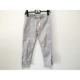 【中古】 スピック&スパン ノーブル Spick & Span Noble パンツ サイズ38 M レディース ライトグレー