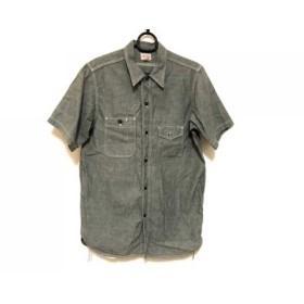 【中古】 ジョーマッコイ JOE MCCOY 半袖シャツ サイズ16 メンズ グレー