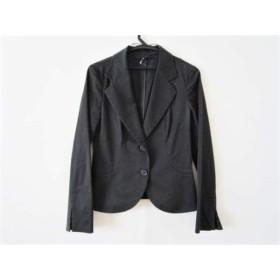 【中古】 アンタイトル UNTITLED ジャケット サイズ2 M レディース 黒